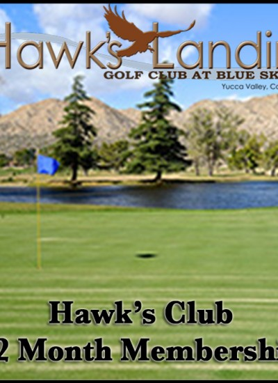 Hawk's Club 12-Month Membership flyer